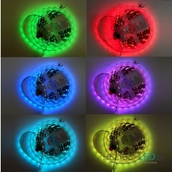 RGB colors of Helios LED strip
